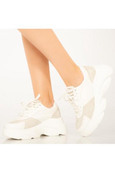 Adidasi dama Uby albi