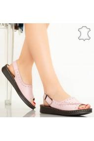 Sandale piele naturala Algo roz