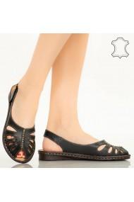 Sandale piele naturala Lya negre