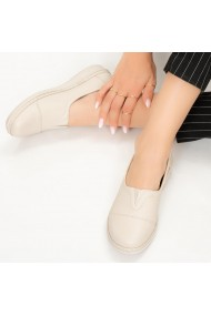 Pantofi dama Ocu bej