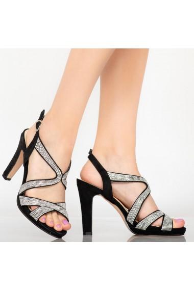 Sandale dama Cona negre
