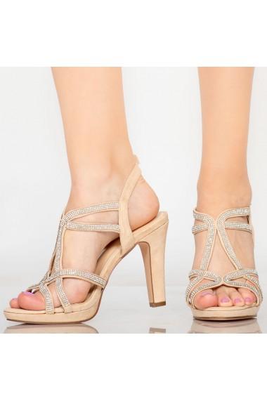 Sandale dama Dian bej