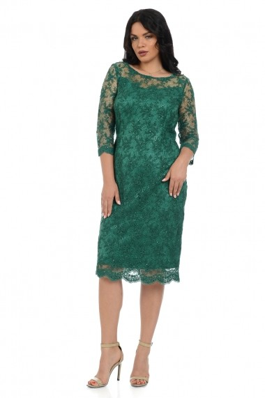 Rochie de zi Elmit R187 02 Verde
