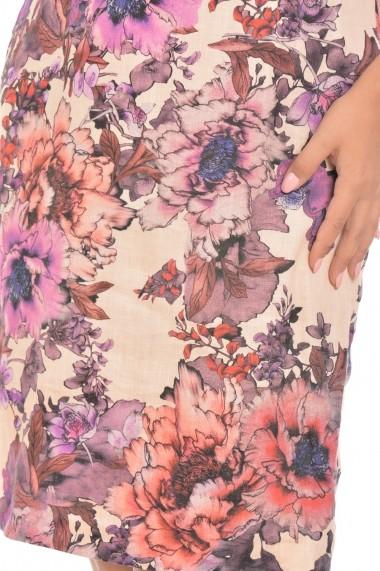 Rochie de zi Elmit R199 Floral