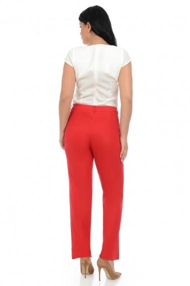 Pantaloni drepti Elmit P155 Rosii