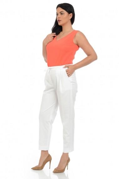 Pantaloni drepti Elmit P156 Albi