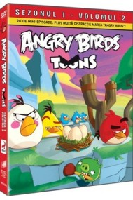 Angry Birds Toons Sezonul 1 Volumul 2 - DVD