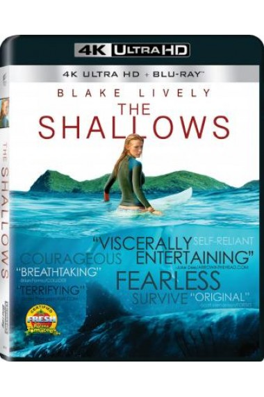 Din adancuri / The Shallows - BD 2 discuri (4K Ultra HD + Blu-ray)
