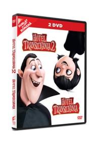 Hotel Transilvania 1 + Hotel Transilvania 2 / Hotel Transylvania 1+ 2 (combo pack - 2 filme DVD)