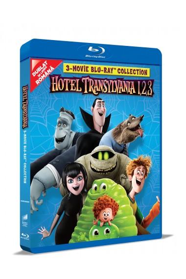 Hotel Transilvania 1 2 3: Colectie de 3 filme pe BLU-RAY / Hotel Transylvania 1 2 3 Movie BLU-RAY Collection