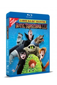 Hotel Transilvania 1 2 3: Colectie de 3 filme pe BLU-RAY / Hotel Transylvania 1 2 3 Movie BLU-RAY Collection