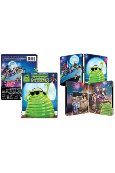 Hotel Transilvania 3: Monstrii in vacanta / Hotel Transylvania 3: A Monster Vacation - BLU-RAY + DVD (Steelbook Glow in the Dark)
