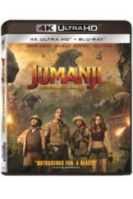 Jumanji: Aventura in jungla / Jumanji: Welcome to the Jungle - UHD 2 discuri (4K Ultra HD + Blu-ray)