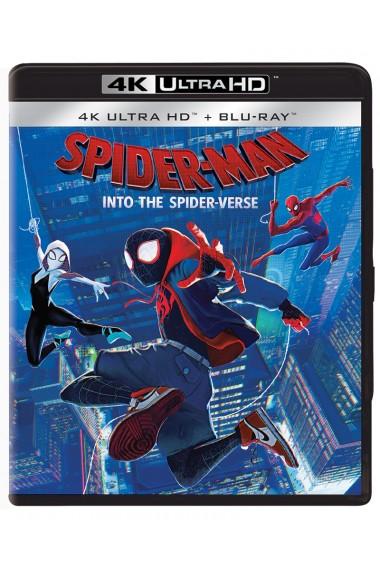 Omul-Paianjen: In lumea paianjenului / Spider-Man: Into the Spider-Verse - UHD 2 discuri (4K Ultra HD + Blu-ray)