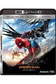 Omul-Paianjen: Intoarcerea acasa / Spider-Man: Homecoming - BD 2 discuri (4K Ultra HD + Blu-ray)