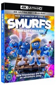 Strumpfii (Strumfii): Satul pierdut / Smurfs: The Lost Village - BD 2 discuri (4K Ultra HD + Blu-ray)