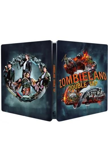 Zombieland 2: Runda dubla / Zombieland 2: Double Tap - UHD 2 discuri (4K Ultra HD + Blu-ray) (Steelbook editie limitata)
