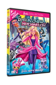 Barbie in Echipa Spioanelor / Barbie: Spy Squad - DVD