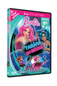 Barbie in Tabara de Muzica / Barbie in Rock `N Royals - DVD