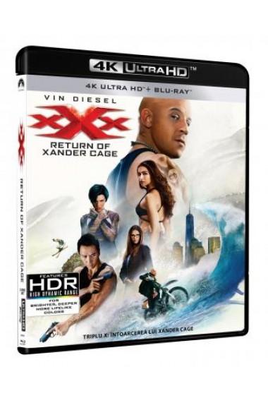 Triplu X 3: Intoarcerea lui Xander Cage / XXX: The Return of Xander Cage - BD 2 discuri (4K Ultra HD + Blu-ray)