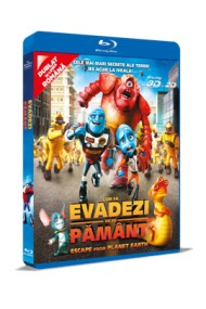 Cum sa evadezi de pe Pamant / Escape From Planet Earth - BLU-RAY 3D + 2D