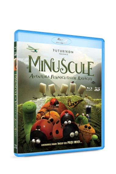 Minuscule: Aventura furnicutelor ratacite / Minuscule: Valley of the Lost Ants - BD 2D+3D