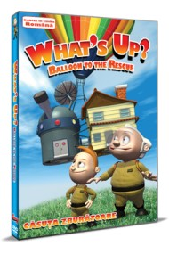 Casuta zburatoare / What`s Up: Balloon to the rescue - DVD
