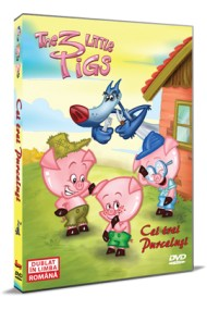 Cei trei purcelusi / The 3 Little Pigs - DVD