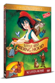 Scufita Rosie / Little Red Riding Hood - DVD