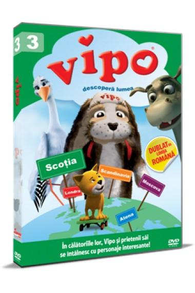 Vipo descopera lumea / Vipo: Adventures of the Flying Dog - Sezonul 1 Volumul 3 - DVD