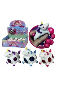 Figurina anti-stres unicorn (mesh ball)