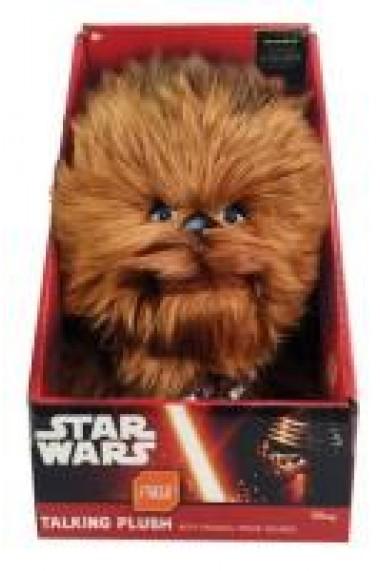 Plus Chewbacca (cu sonor) din Star Wars / Razboiul Stelelor (24 cm)