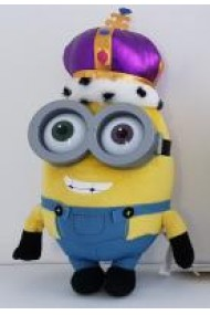 Plus Minionii - Regele Bob incoronat / Crown King Bob (22 cm.)