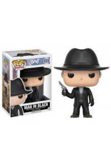 Figurina Funko Pop Television - Westworld - Man in Black - Collectible Action Figure (459)