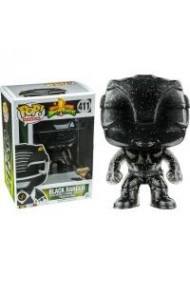 Figurina Funko Pop! Television - Power Rangers - Black Ranger - Vinyl Collectible Action Figure (411)