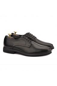 Pantofi barbati din piele naturala neagra 0176