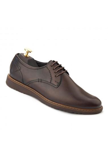 Pantofi Piele cu talpa ortopedica DCB 239
