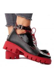 Pantofi dama casual negri piele naturala 3540