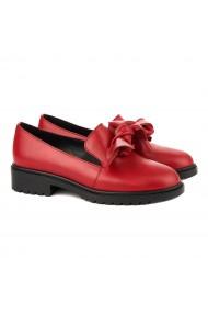 Pantofi dama piele cu funda 1274