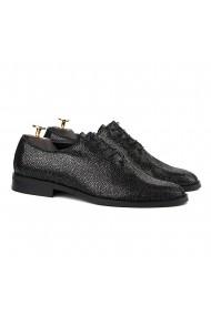 Pantofi Ceremonie Negru Pearl 842