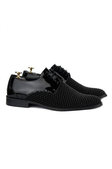 Pantofi Ceremonie Negru Stras 884