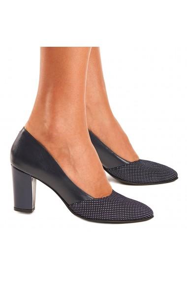 Pantofi cu toc din Piele Naturala Navi 4035