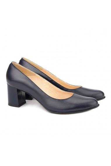Pantofi cu toc din Piele Naturala Navi 4040