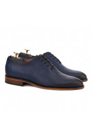 Pantofi Eleganti Albastru cu Talpa Construita 829