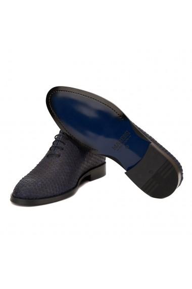 Pantofi Eleganti Blu Snake 031