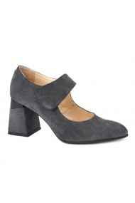 Pantofi cu toc eleganti din piele naturala 4388