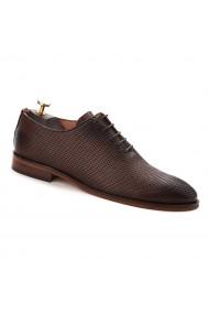 Pantofi Eleganti Maro cu Talpa Construita 756