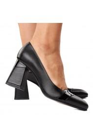 Pantofi stiletto eleganti din piele naturala 4281