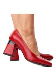 Pantofi stiletto eleganti din piele naturala 4286
