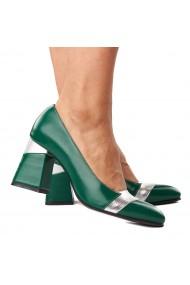Pantofi stiletto eleganti din piele naturala 4287